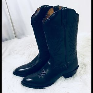 NEW [ ARIAT ] Western Boots Black 8